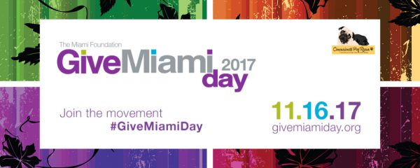 "Support Compassionate Pug Rescue on ""Give Miami Day"" – November 16, 2017!"